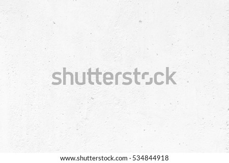 White Raw Concrete Wall Texture Background Suitable for Presentation and Web Templates with Space for Text. #534844918