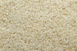 White rice, abstract beautiful texture background