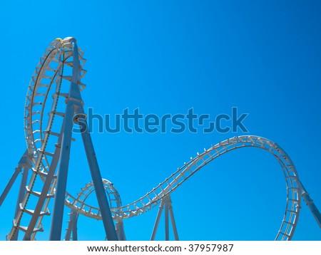 White Roller Coaster