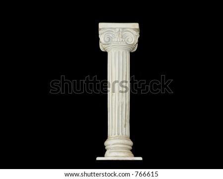 White Roman Column