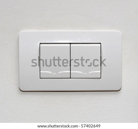 white room light switch