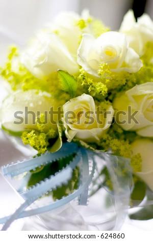 bridesmaids rose bouquet 2011