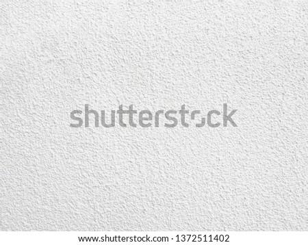 White rough plaster
