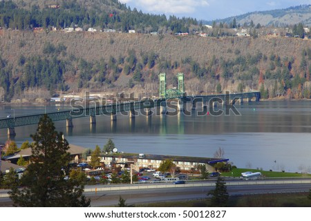 White Salmon Interstate bridge, Hood River Oregon.