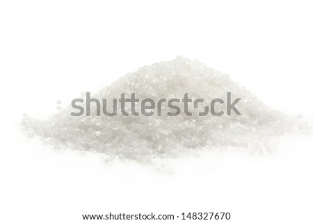 White salt granulated