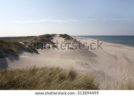 White Sands of Danish West Coast Beaches.