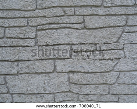 white sandy block tile wall structure background #708040171