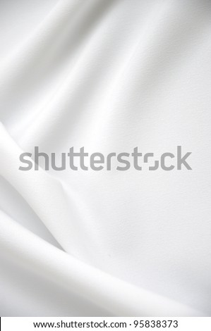White satin with copy-space