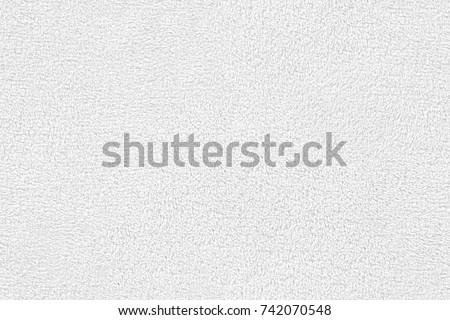 white seamless terry cloth texture Stockfoto ©
