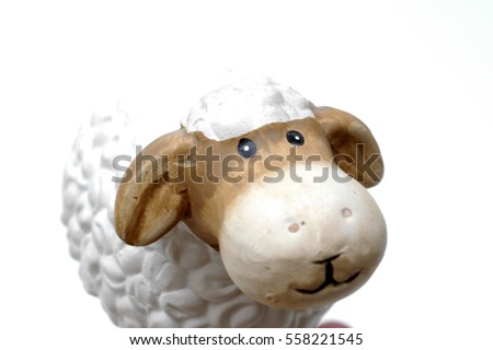White sheep, pure #558221545