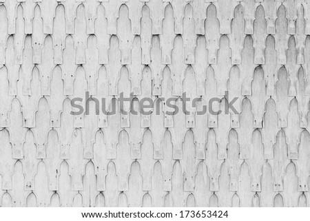 white shingle