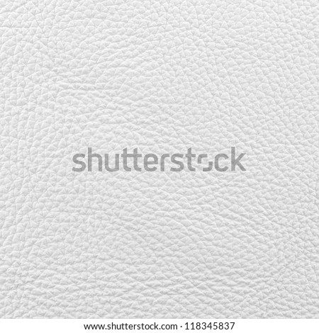 White smooth nappa leather surface