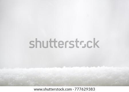 White snow border. #777629383