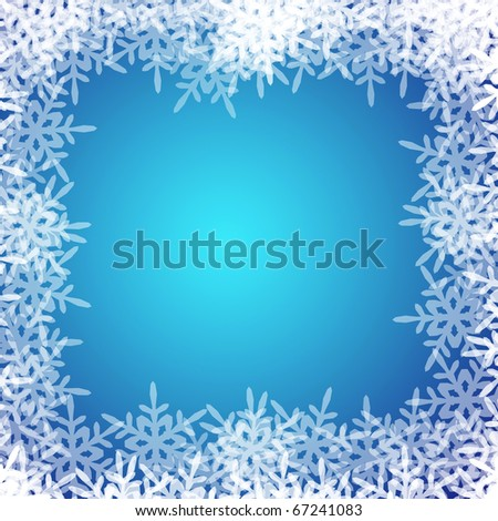 white snowflake background. stock photo : white snowflake