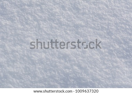 White snowflakes background, rough pattern of snow texture #1009637320