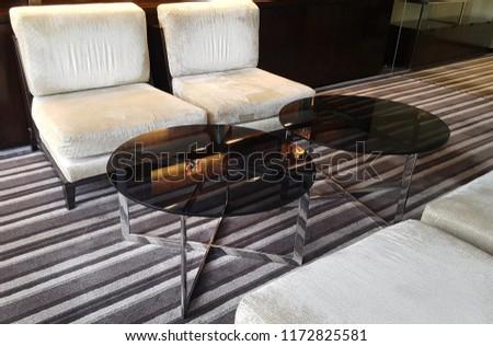 white sofa seat #1172825581
