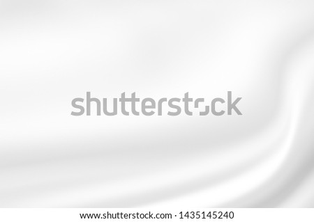 white soft cloth texture rippled as smooth wave for abstract softness and dreamy pattern background design