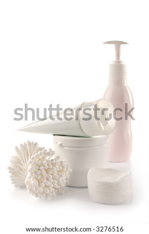 White spa and hygiene accessories-faultless cleanliness, freshness and neatness