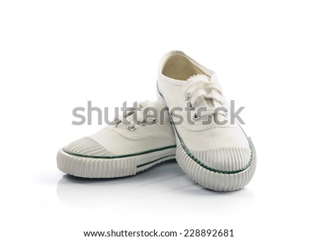 White sport shoes #228892681