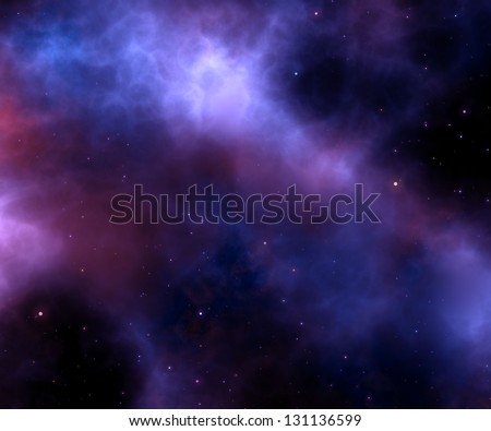 white stars in space