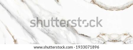 White statuario marble texture background, Thassos quartzite, Carrara Premium, Glossy statuary limestone marbel, Satvario tiles, Italian blanco catedra stone pattern, Calacatta Gold Borghini Italy. Stockfoto ©