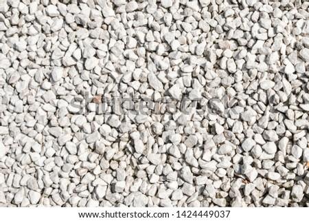 white stone  background - white pebble stones