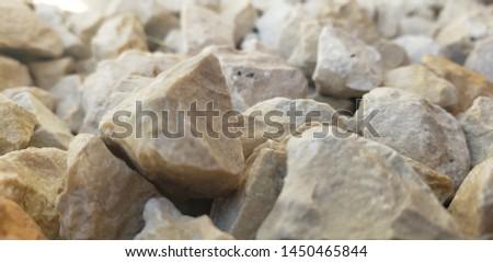 White stone creates this natural textured background.