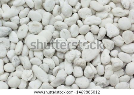 white stone for texture background.