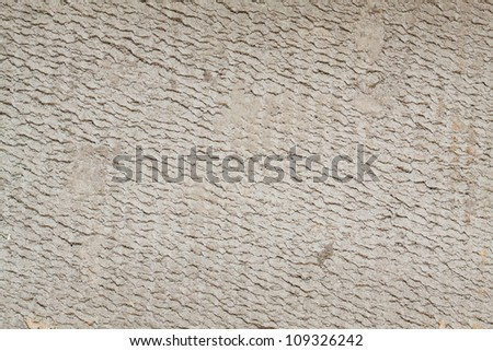 White stone wall background. Cement rendering .
