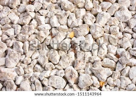 White stones background. Full frame. Close up.
