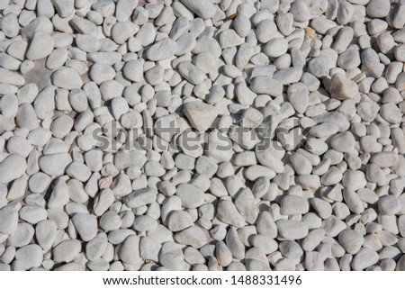 White Stones, White Background, White Decorative Stones, Aquarium Stones, Stones For The Garden
