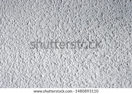 White stucco concrete wall surface texture background surface grunge grit detail #1480893110