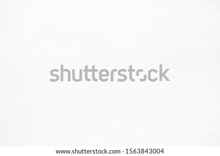 White Stucco Concrete Wall Texture Background, Suitable for Backdrop and Mockup.