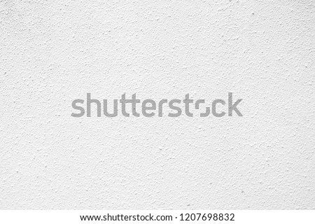 White Stucco Texture Background. #1207698832