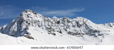 white summit - stock photo