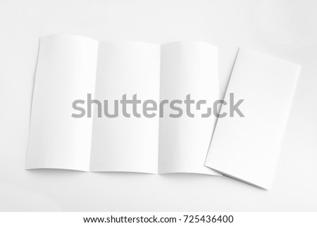 white template paper on background #725436400
