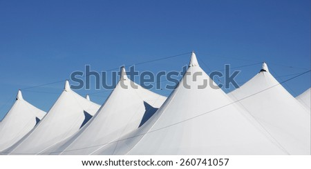 white tent roofs #260741057