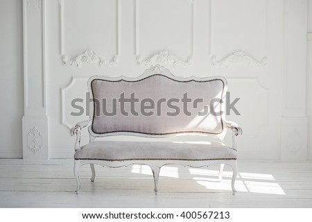 white textile classical style...
