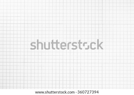 White Tile /Mosaic Tiles background and texture