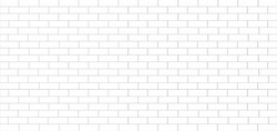 white tile wall ceramic or brick pattern subway texture for background