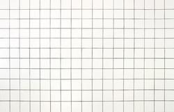 White Tiles wall background
