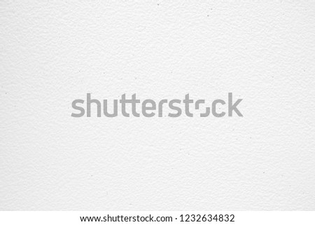 White Tiny Pebble Stone Wall Texture Background. #1232634832