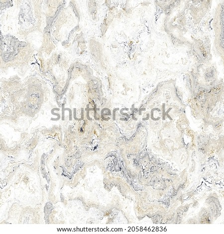 White tonal marbled seamless texture. Irregular pale ink blotch paint effect background. Marble tone on tone minimal graphic design wallpaper tile