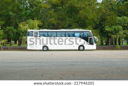 White Tour or Private Charter Bus