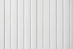 White vertical blinds closeup for the background