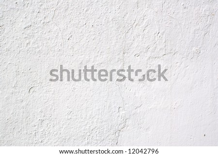 White wall - background