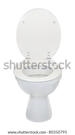 white water closet toilet