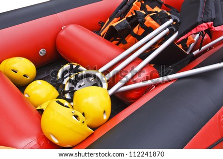 White Water Rafting Equipment