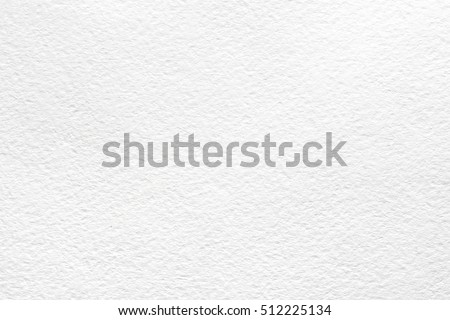 White watercolor paper background - Shutterstock ID 512225134
