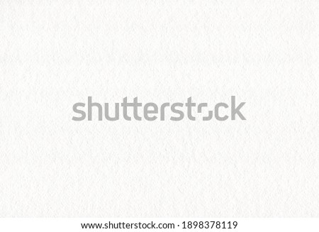White watercolor paper texture background. Rough grain